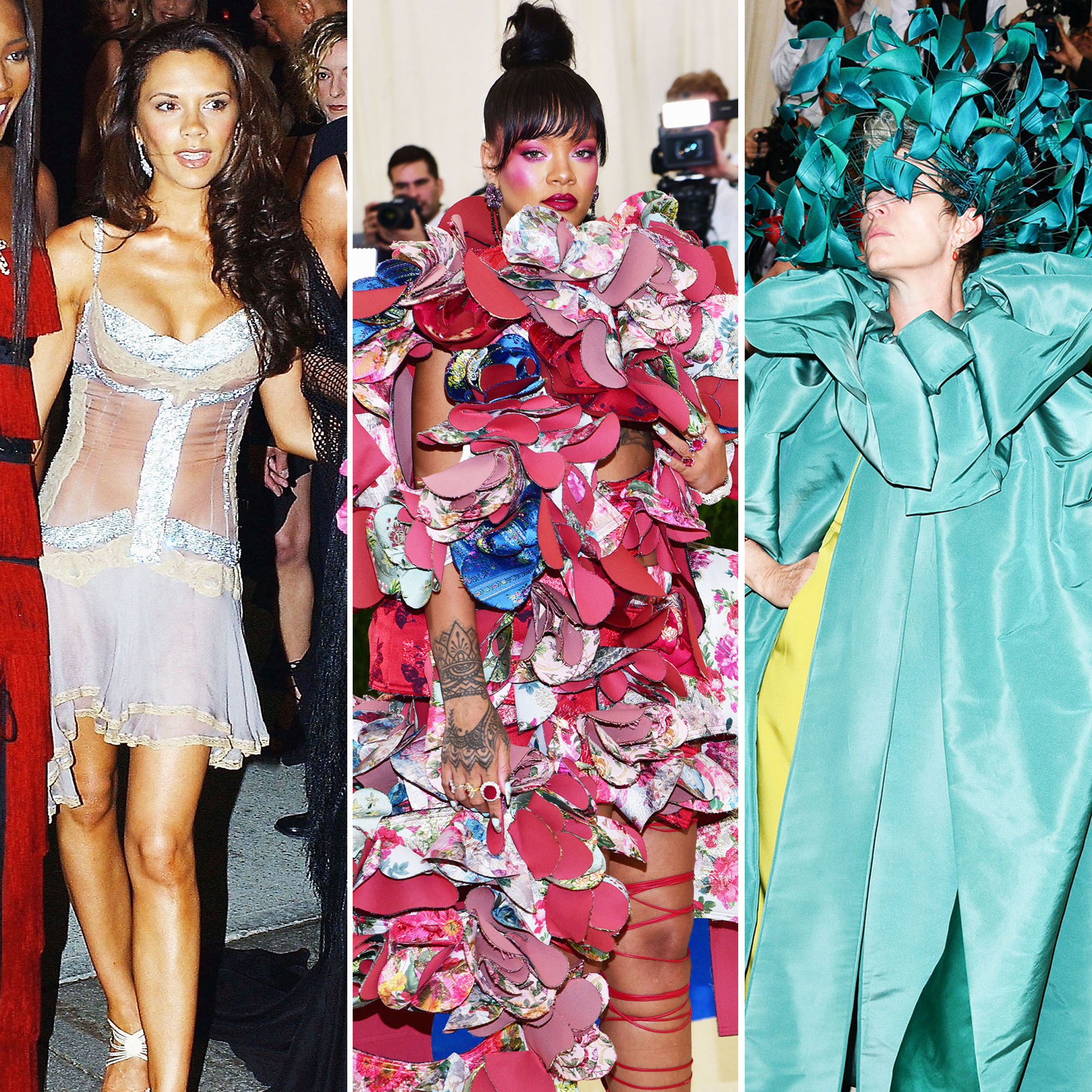 Victoria Beckham, Rihanna, and Frances McDormand The Wild Met Gala Red Carpet Fashion Looks We Can't Stop Thinking About - Victoria Beckham, Rihanna, and Frances McDormand