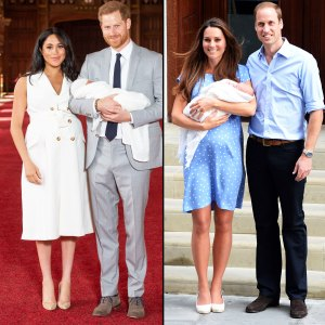 How Does Duchess Meghan's First Look Dress Compare to Duchess Kate's?