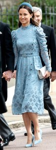 Pippa Middleton Copied Sister Duchess Kate Chic Headpiece