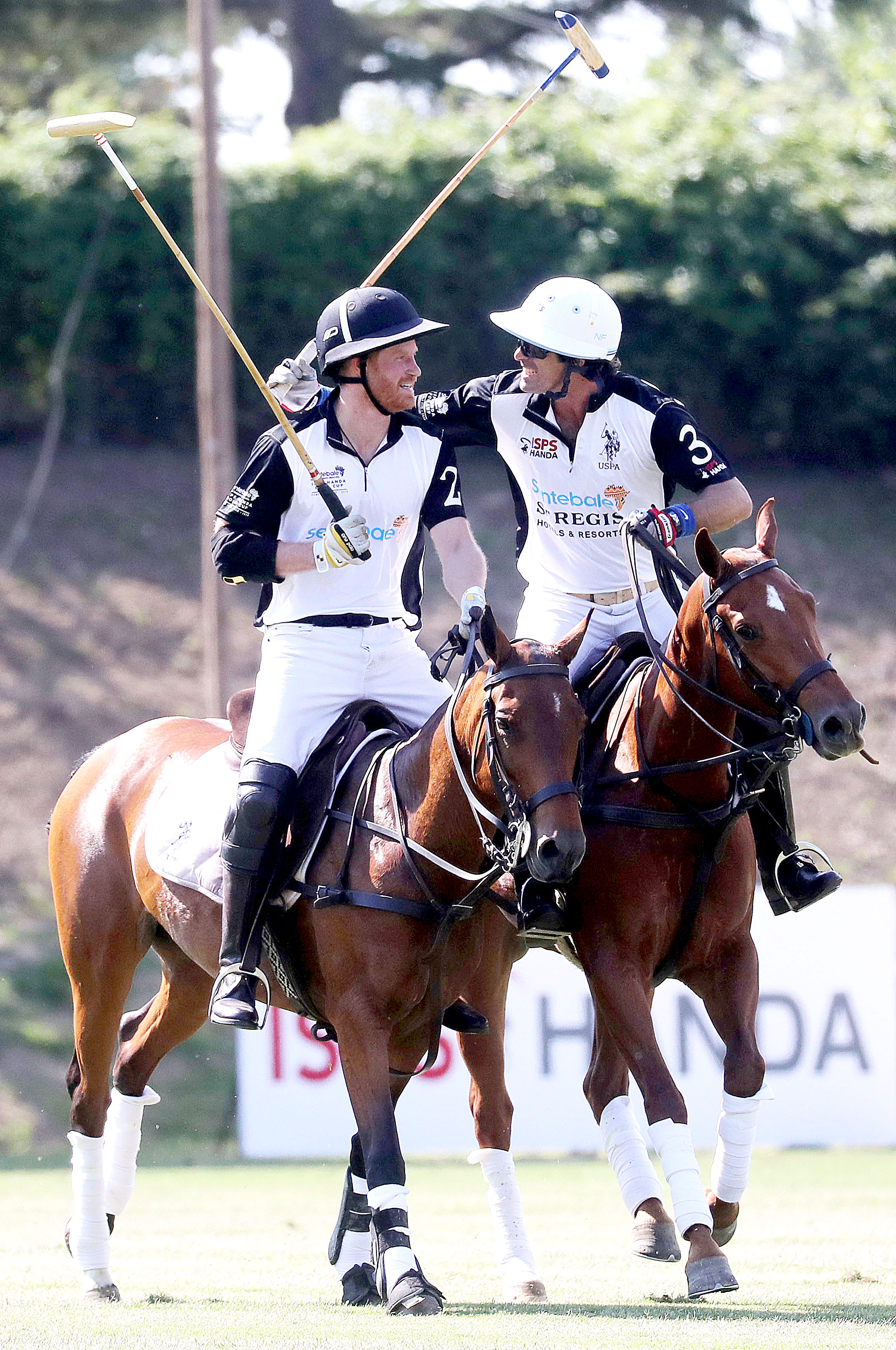 Prince Harry Spends First Night Away From Meghan Archie - Friday marked the ninth annual Sentebale ISPS Handa Polo Cup.