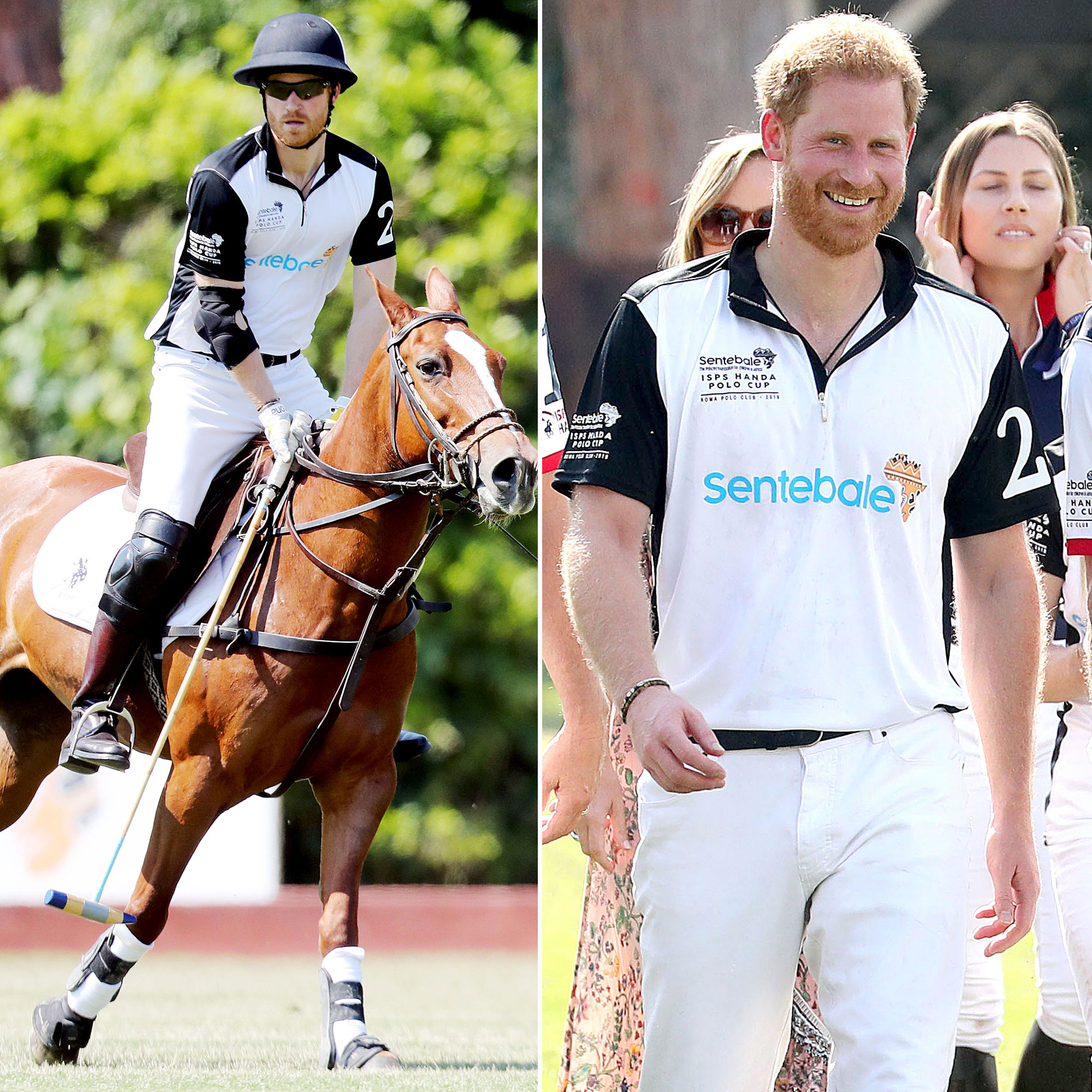 Prince Harry Spends First Night Away From Meghan Archie - Polo calls! Prince Harry spent his first night without Duchess Meghan since the couple welcomed baby Archie earlier this month.
