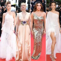 Red Carpet Gallery For Stylish Cannes