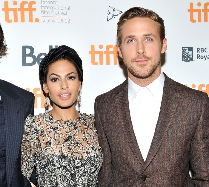 Eva Mendes Ryan Gosling Struggling to Teach Kids Spanish