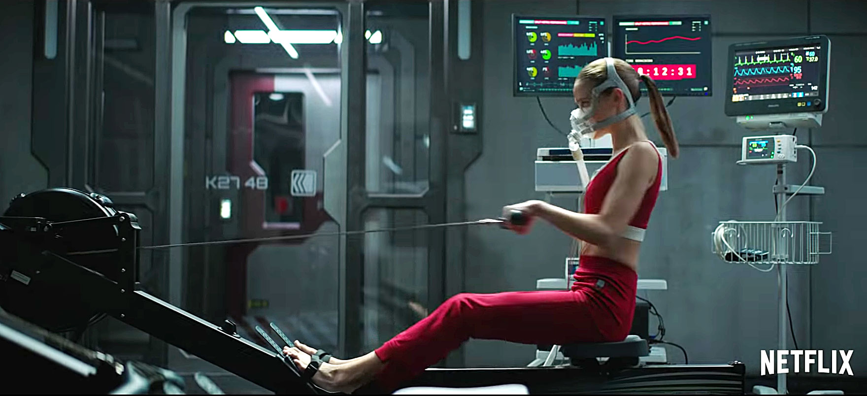 """Can't Miss Summer Movie Preview - After being raised underground by a robot, Daughter ( Clara Rugaard ) meets a blood-soaked woman ( Hilary Swank ) with new details about the world. """"It's always been Daughter and the robot, so it's alarming when this woman disrupts everything,"""" says Ruggard."""