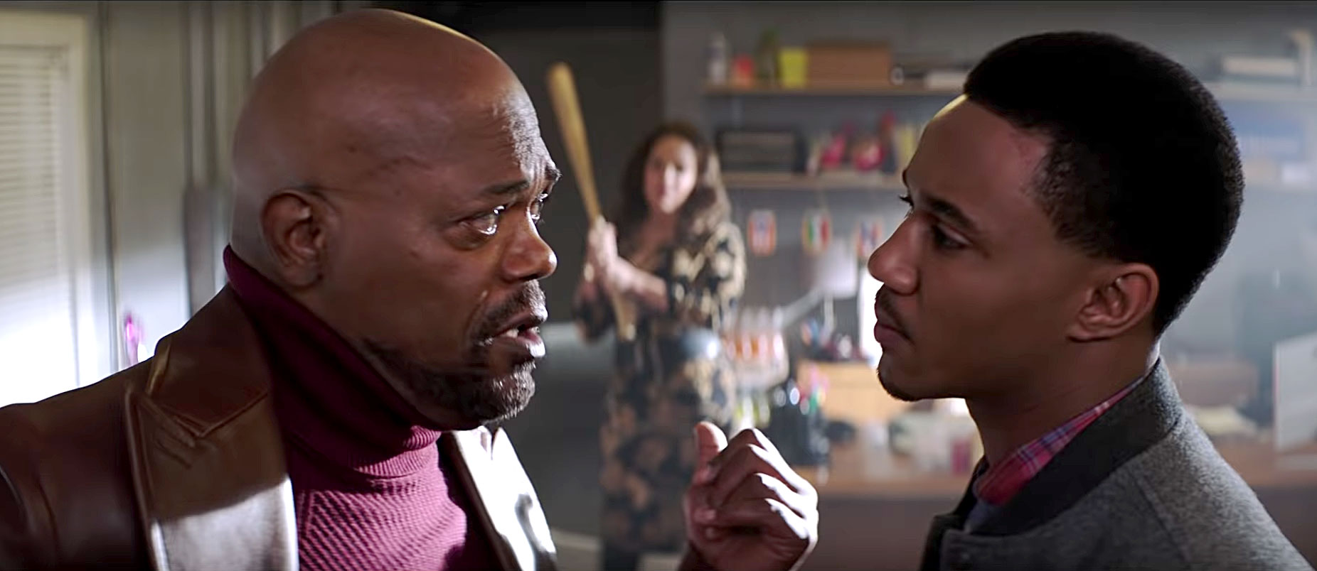 Can't Miss Summer Movie Preview - John Shaft Jr. ( Jessie T. Usher ) turns to his estranged dad, John Shaft II (summer staple Samuel L. Jackson ), for help after his best friend is murdered in the fifth movie of the Shaft franchise. And while Shaft may be a strong man, he has a soft spot for his ex ( Regina Hall ).