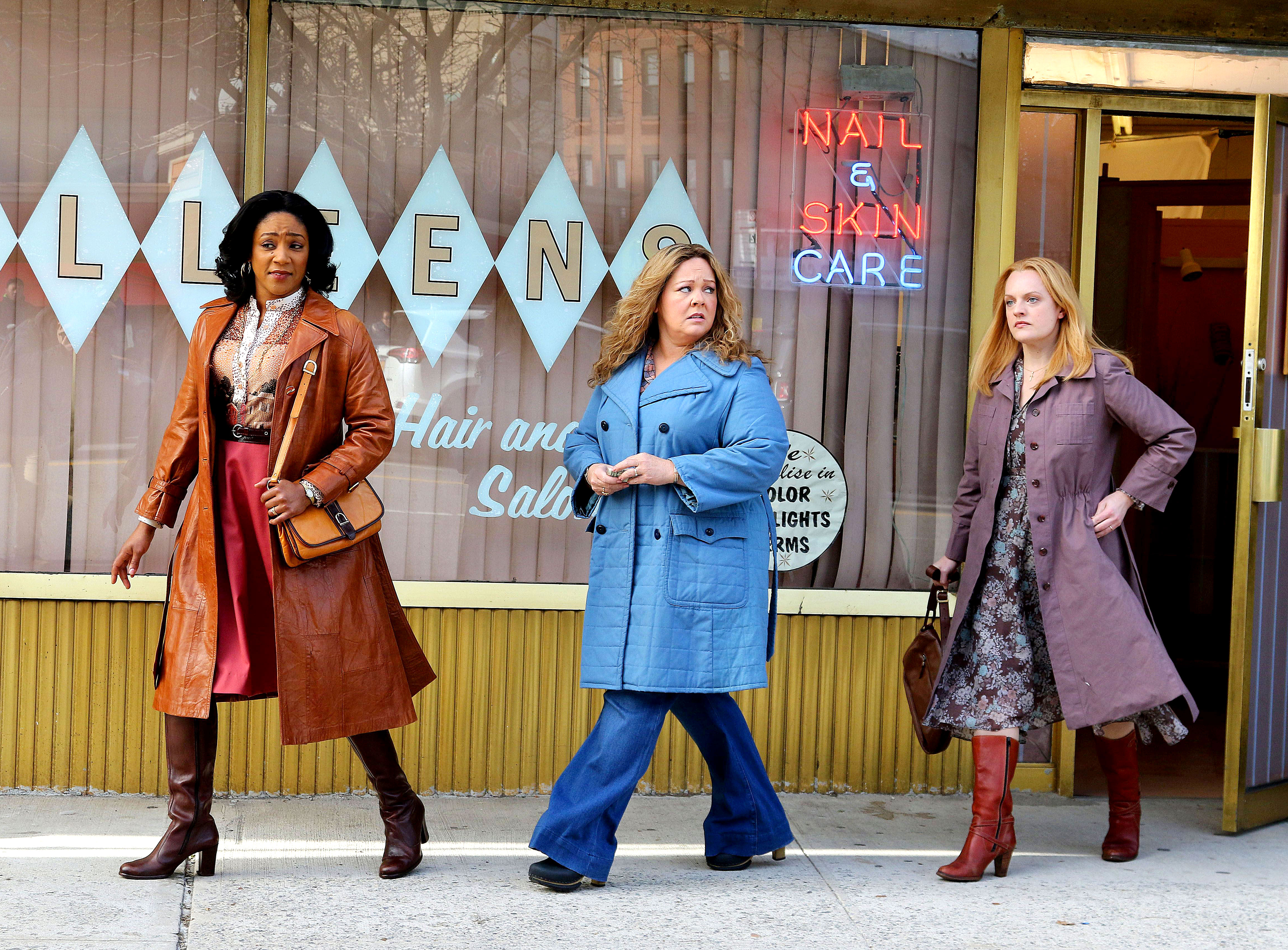 Can't Miss Summer Movie Preview - This is one trio we wouldn't want to tussle with. Melissa McCarthy , Tiffany Haddish and Elisabeth Moss play the wives of Irish mobsters who take over their husbands' business when the men go off to prison.