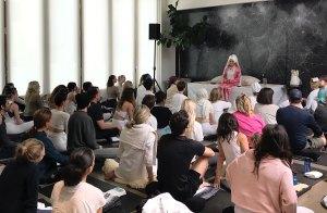 Celebrity Yoga Guru Gurmukh Explains Why Cindy Crawford, Demi Moore, Miranda Kerr and More Stars Love Her Style of Teaching