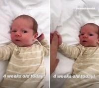 Alessi-Luyendyk-4-weeks-old
