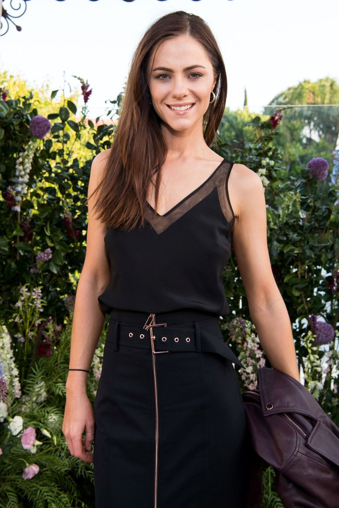 Alexandra Park of The Royals Poses In A Garden of Flowers