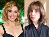 Alison Brie From Blonde to Brunette