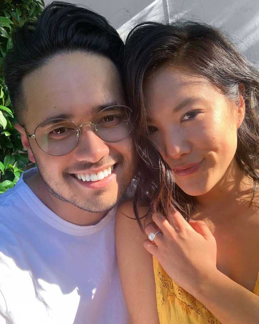 Ally-Maki-and-Travis-Atreo-engagement