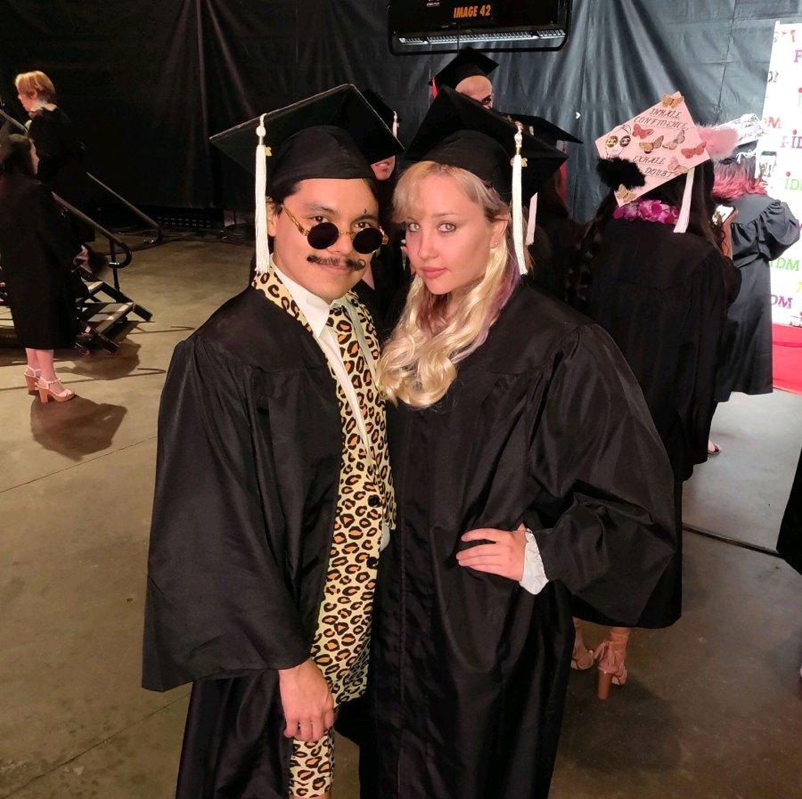 Amanda Bynes Graduates FIDM