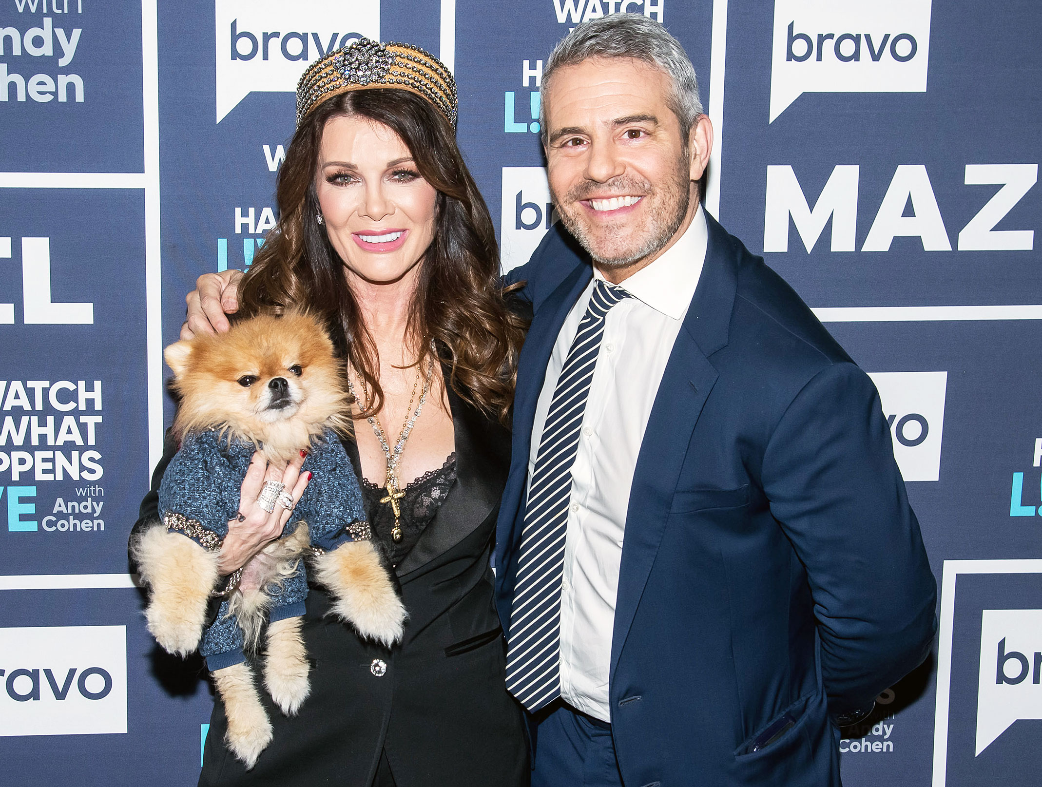 Andy Cohen Lisa Vanderpump on WWHL in Hopes She Will Return to RHOBH