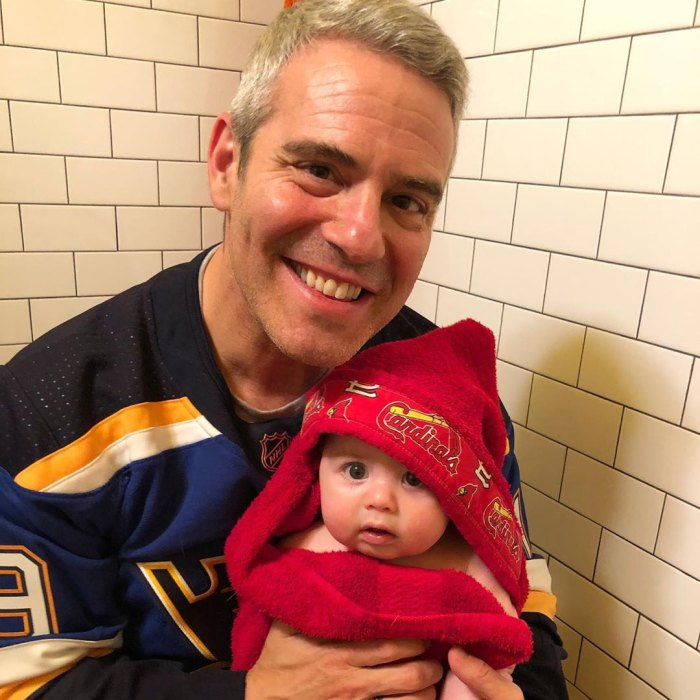 Andy Cohen On Father's Day Son Benjamin