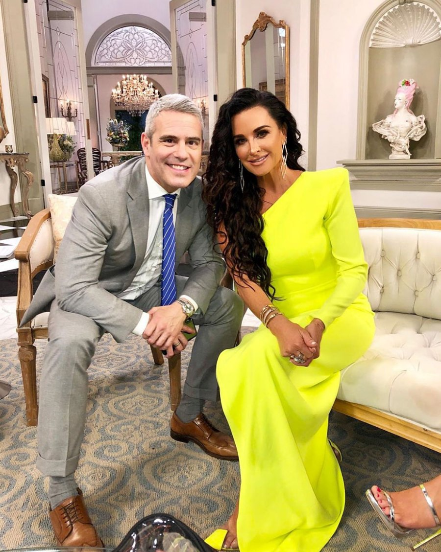 Inside Reunion RHOB Andy Cohen and Kyle Richards