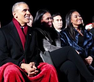 Barack Obama Michelle Obama Daughter Sasha High School Graduation