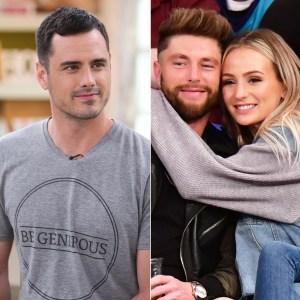 Ben Higgins Wants Ex Lauren Bushnell Happy With Chris Lane