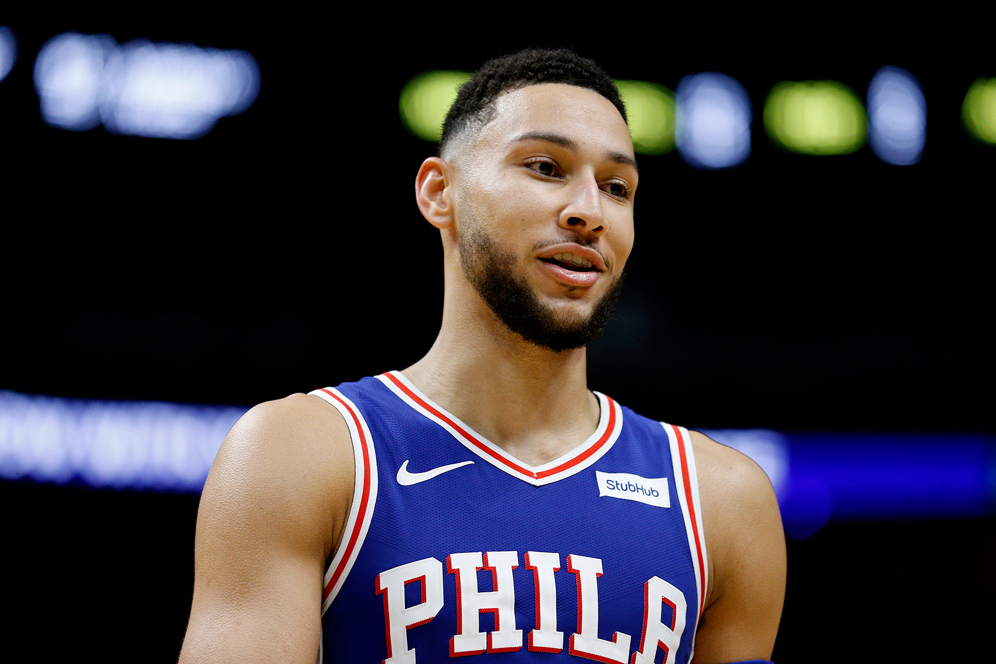 Ben Simmons Checking Out Girls After Kendall Jenner Split