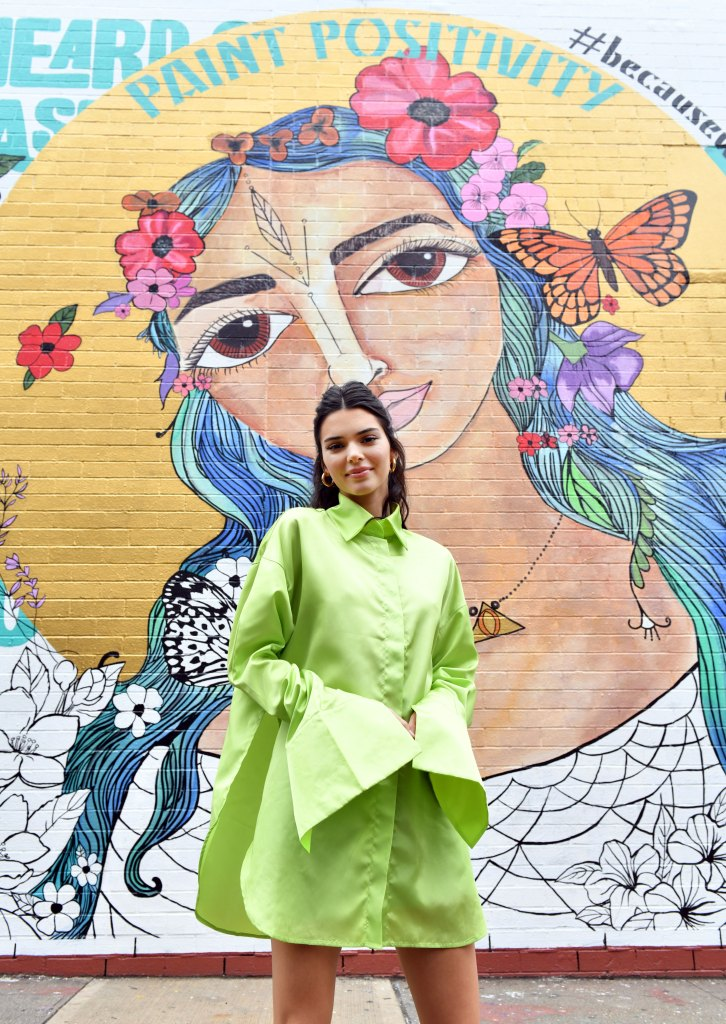 Ben Simmons 'Likes' Ex-Girlfriend Kendall Jenner's Instagram Post 1 Month After Split Kendall Jenner stops by the #PaintPositivity #BecauseWordsMatter mural in Williamsburg