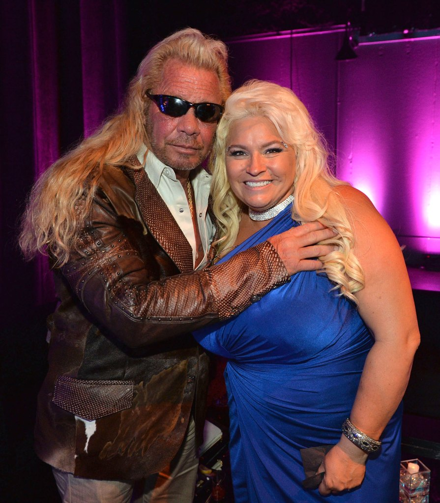 Dog the Bounty Hunter' Kisses Wife in Post-Death Tribute Video