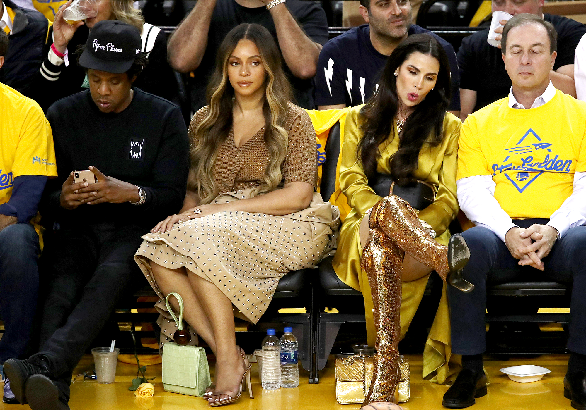 Beyonce's-Publicist-Reminds-Beyhive-to-Not-'Spew-Hate'-After-Nicole-Curran-Drama-at-NBA-Finals