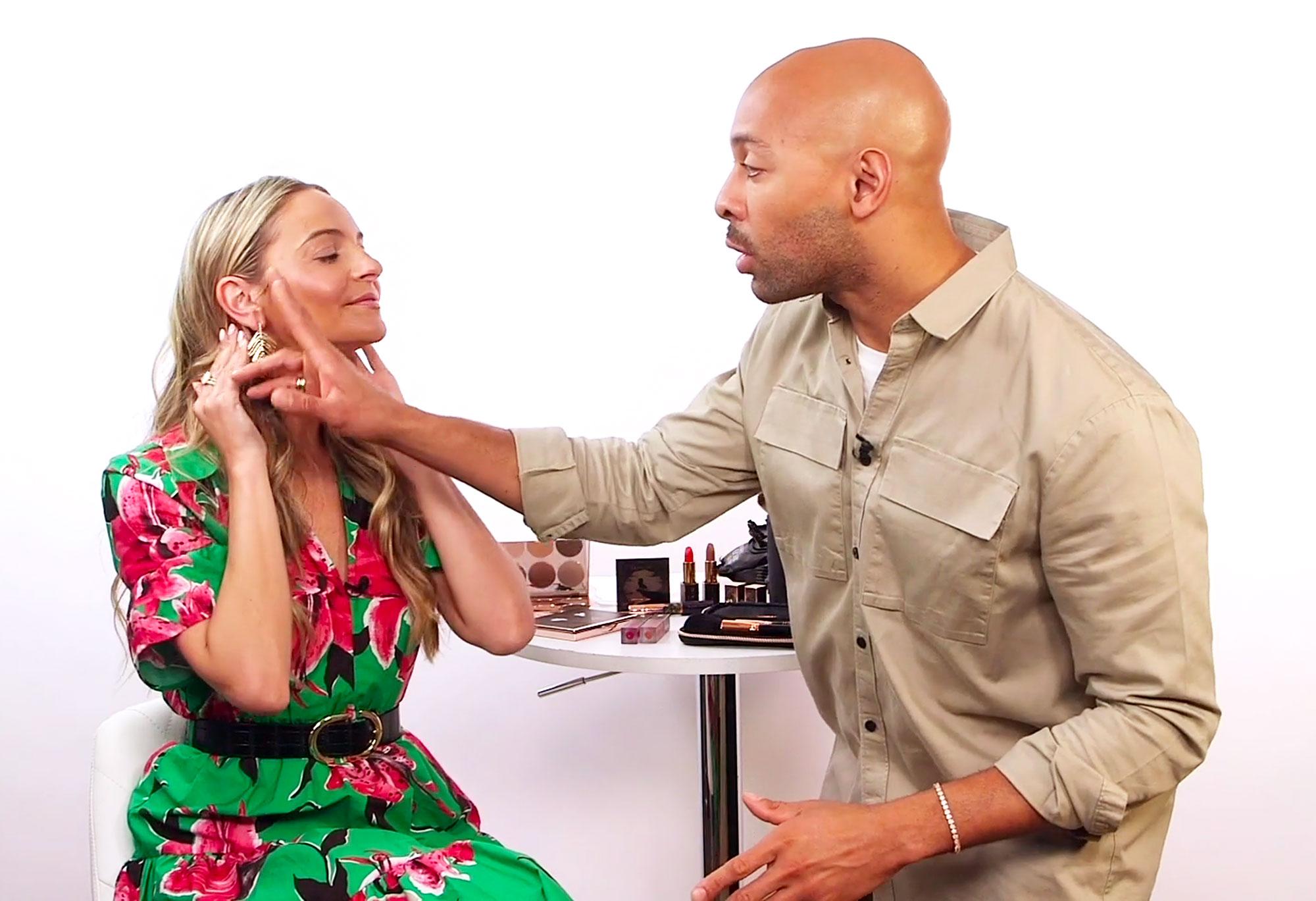 Beyonce Makeup Artist Sir John Highlighter Easy Glam Look