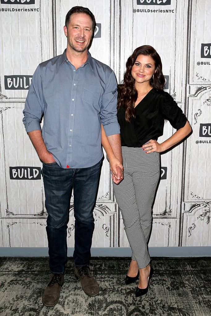 Brady Smith and Tiffani Thiessen Made First Move