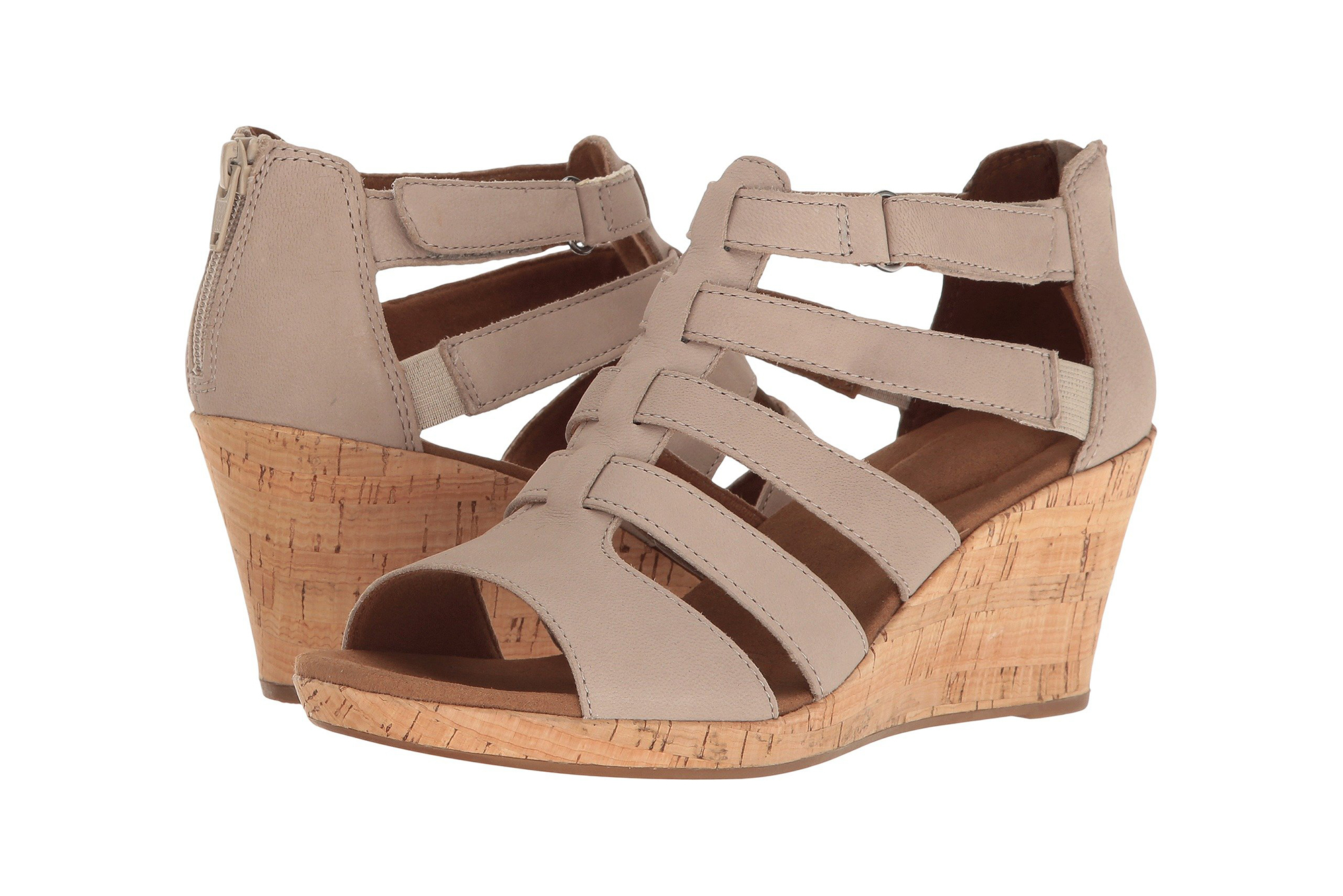 "b8b02adbe These Wedge Sandals Are ""More Comfortable Than Slippers"""