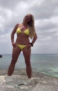 Britney Spears Bikini Instagram June 23, 2019