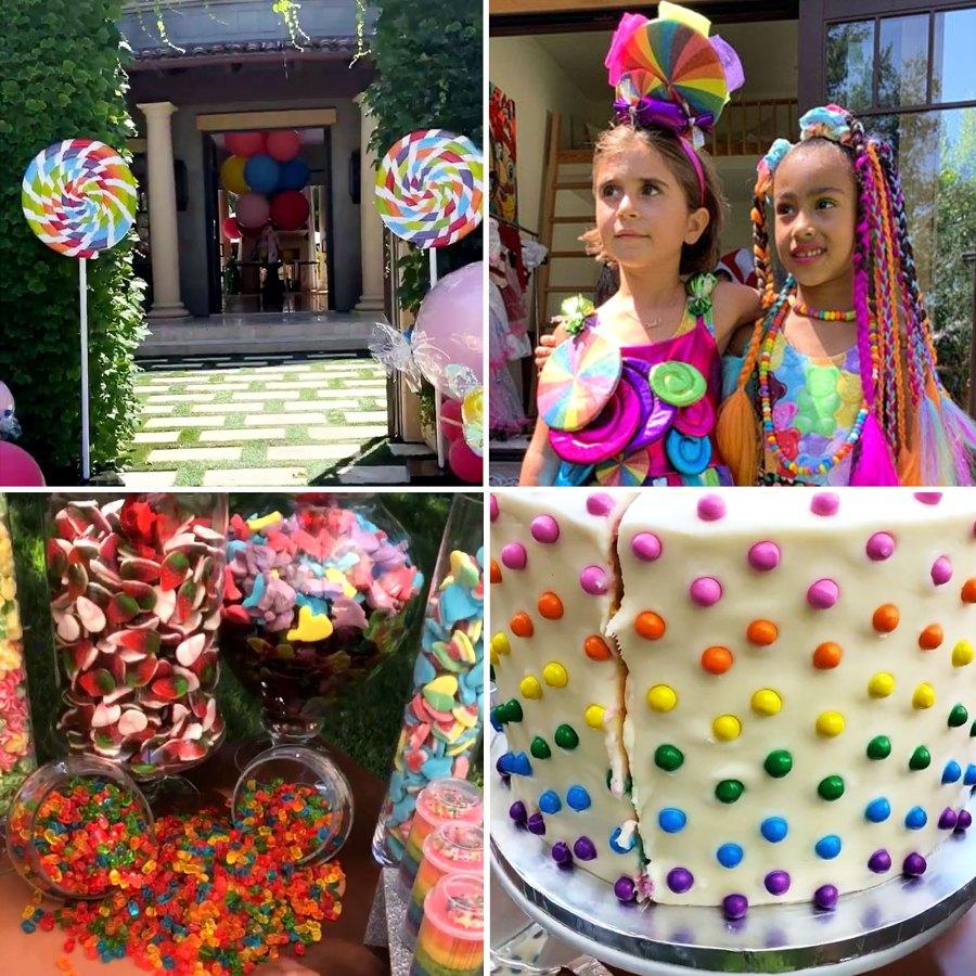 Kardashian Jenner Kids Extravagant Birthday Parties Pics