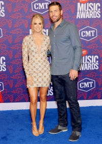 069282c213 From Maren Morris and Ryan Hurd to Chris Lane and Lauren Bushnell: Country  Music's Cutest Couples Take the CMTs Blue Carpet