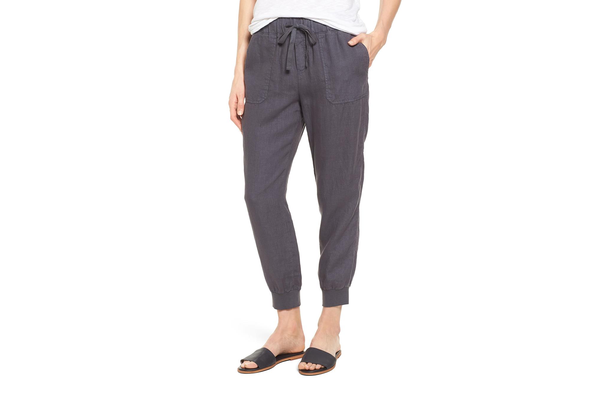 3f1c39d7f0f8e These Linen Joggers Are the Perfect Summer Sweatpants Alternative
