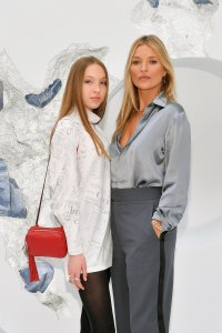 Celebrities and Their Look-Alike Kids Kate Moss and Lila Grace Hack Dior Homme Menswear Spring Summer 2020 show