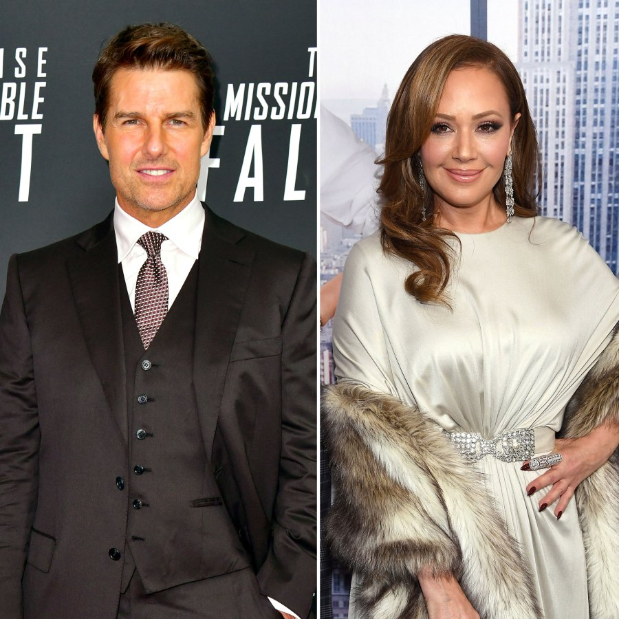 Celebrity Scientologists Tom Cruise and Leah Remini