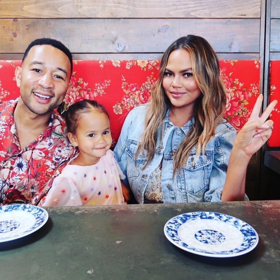 Chrissy Teigen's Daughter Luna Contends She's 'Not Cute Ever'