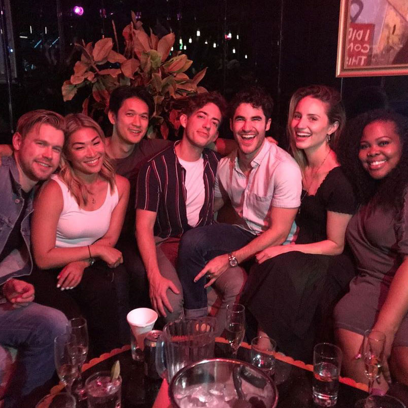 Costars Reunited Glee June 2019