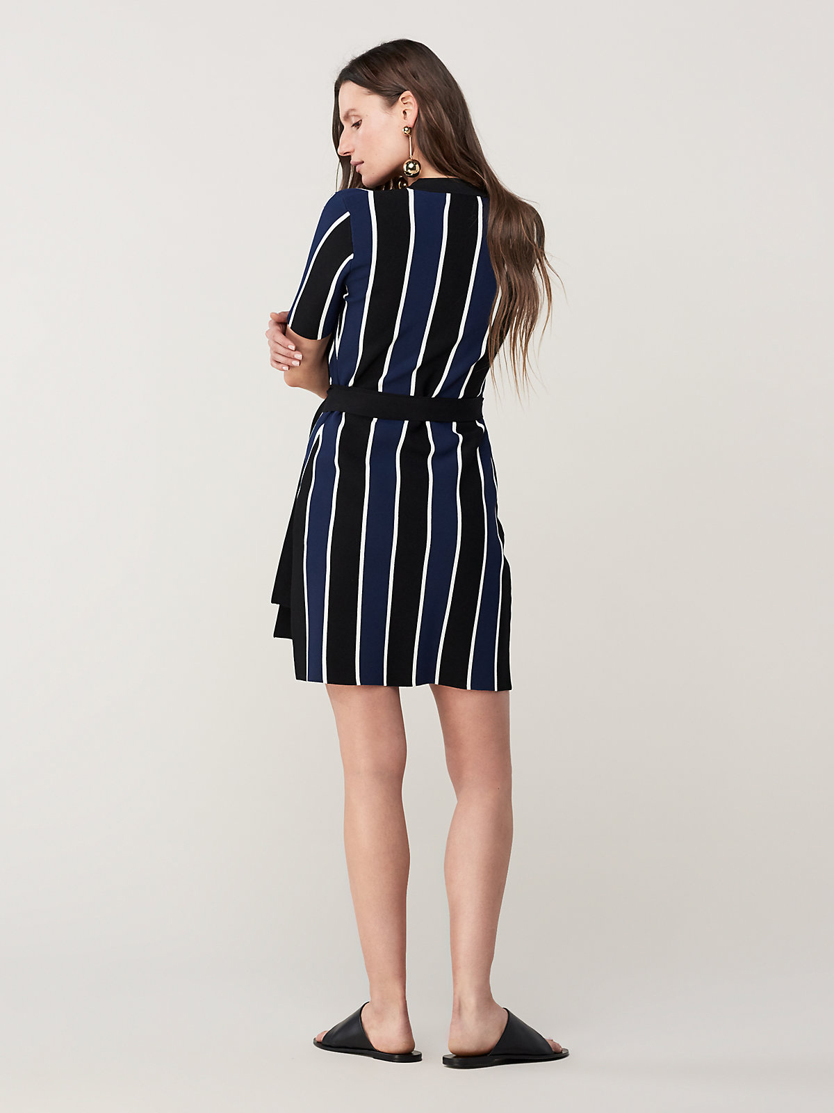 DVF Iris Dress Back
