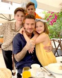 David-Beckham-Victoria-Beckham-kids-family-vacation