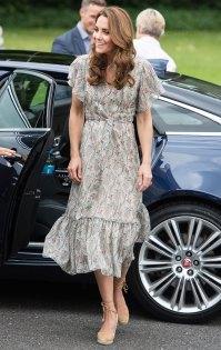 Duchess Kate Middleton Casual Summer Dress June 25, 2019