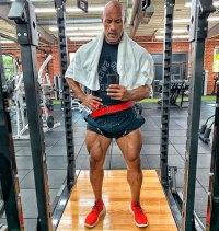 """Dwayne """"The Rock"""" Johnson Leg Workout"""