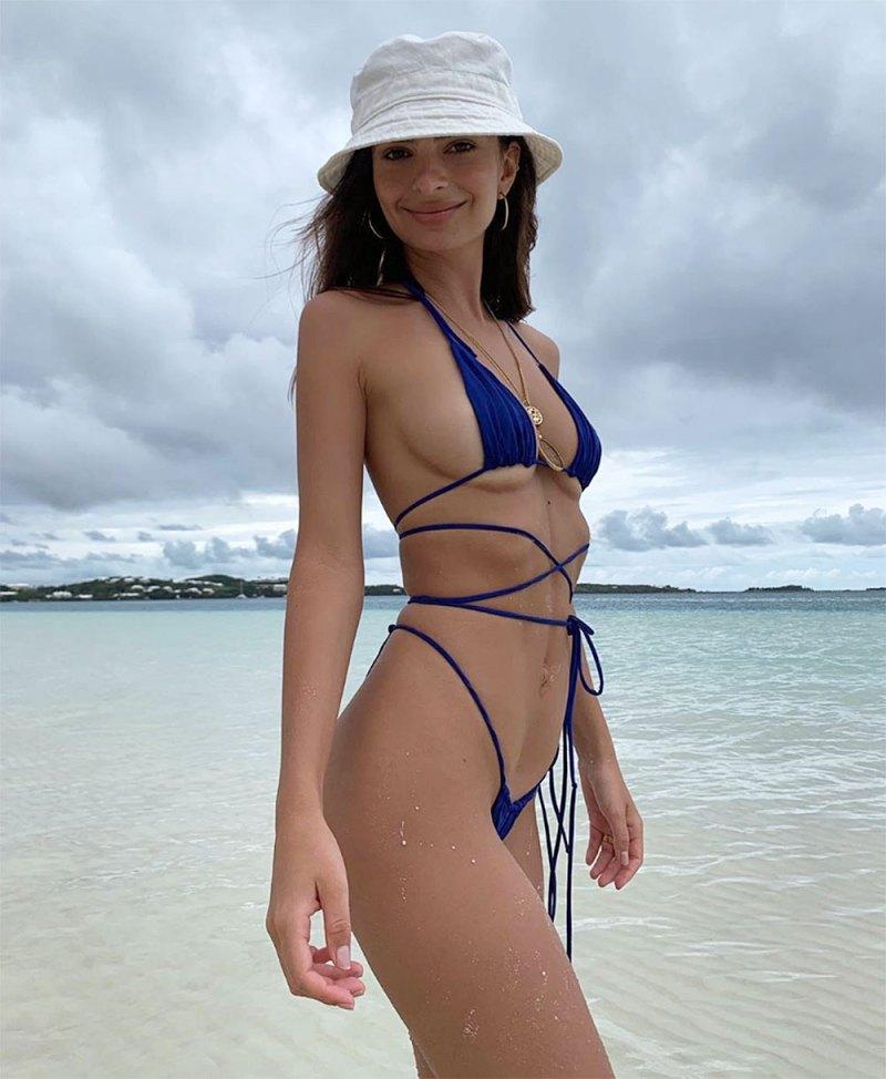 7d37b15aa9 Best Celebrity Beach, Bikini, Swimsuit Bodies of 2019: Pics