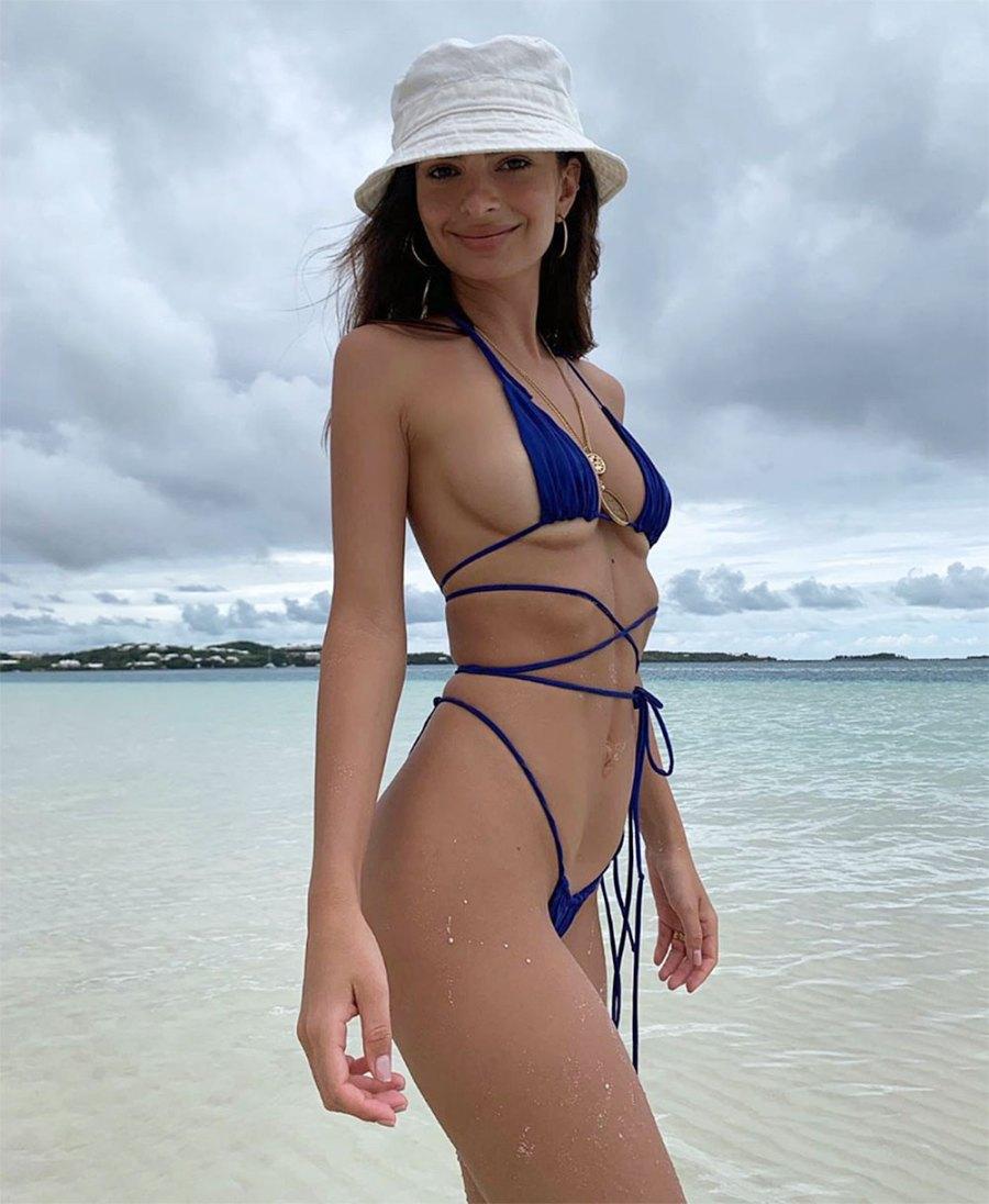 Emily Ratajkowski Bikini Instagram