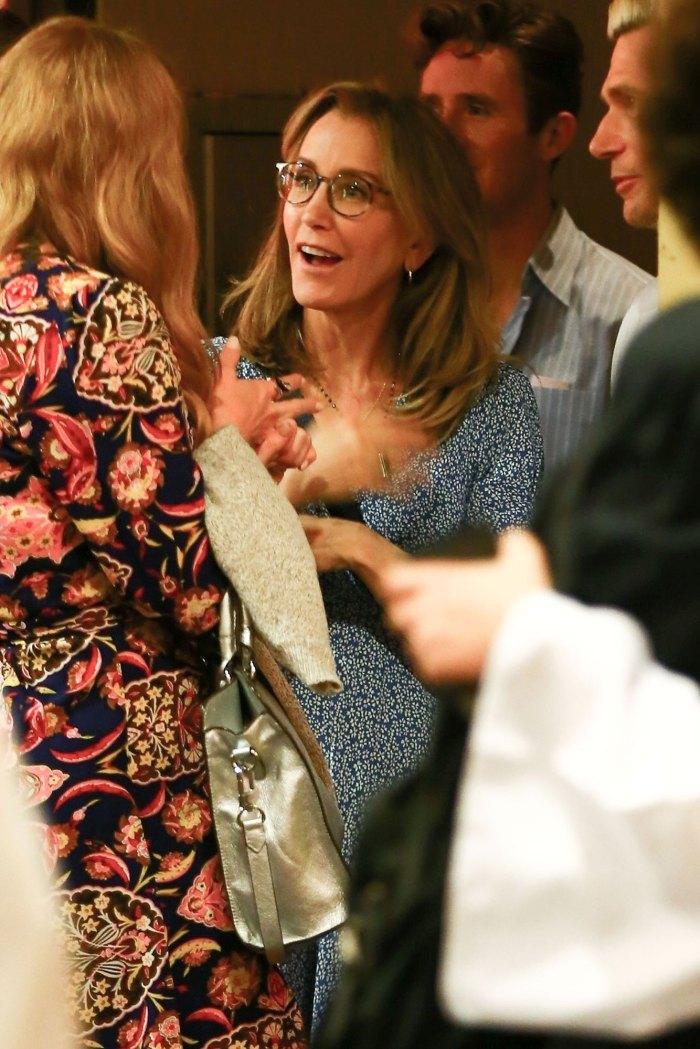Felicity Huffman Attends Daughter Sophia High School Graduation