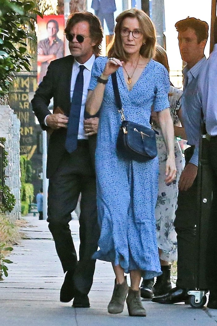 Felicity Huffman and William H Macy Attends Daughter Sophia High School Graduation