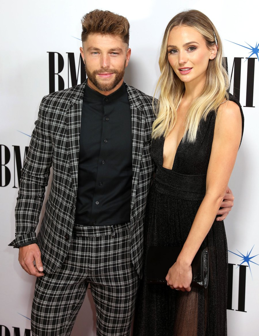 First Outing Lauren Bushnell and Chris Lane