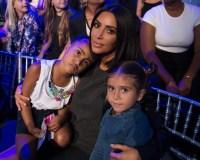 Kim Kardashian cuddles daughter North West and niece Penelope Disick