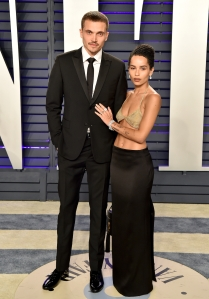Zoe Kravitz and husband Karl Glusman