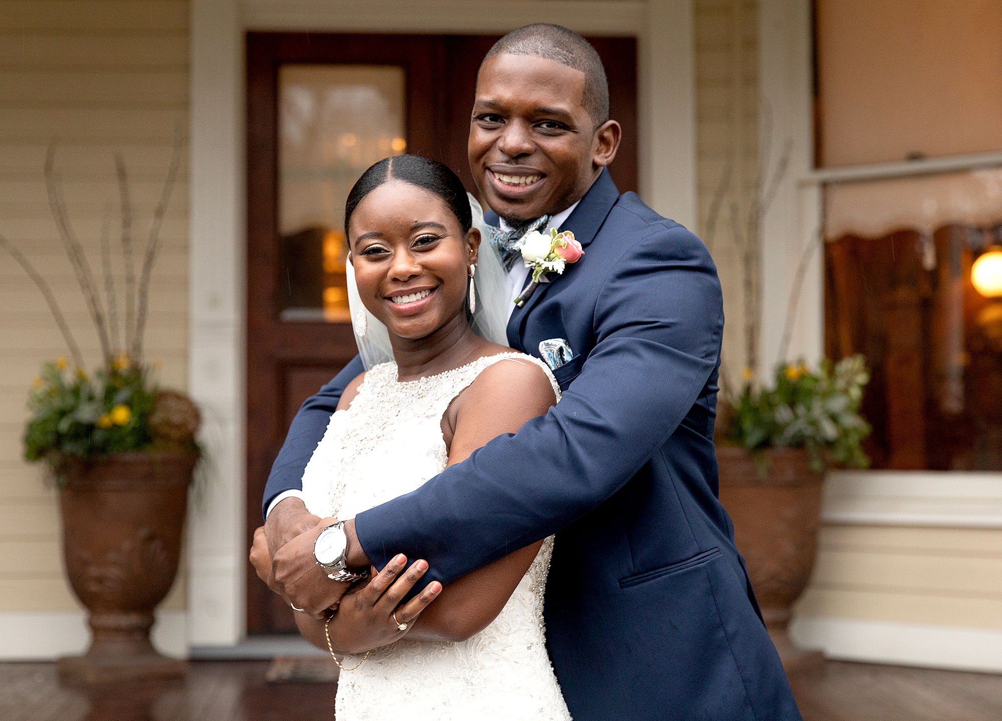 Gregory Okotie and Deonna McNeill on Married At First Sight