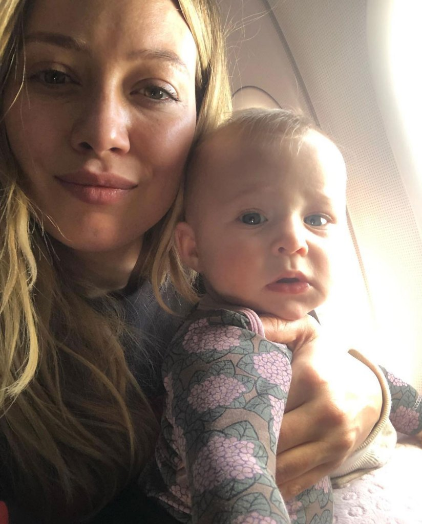 Hilary Duff Spends Night in Hospital With Daughter Banks