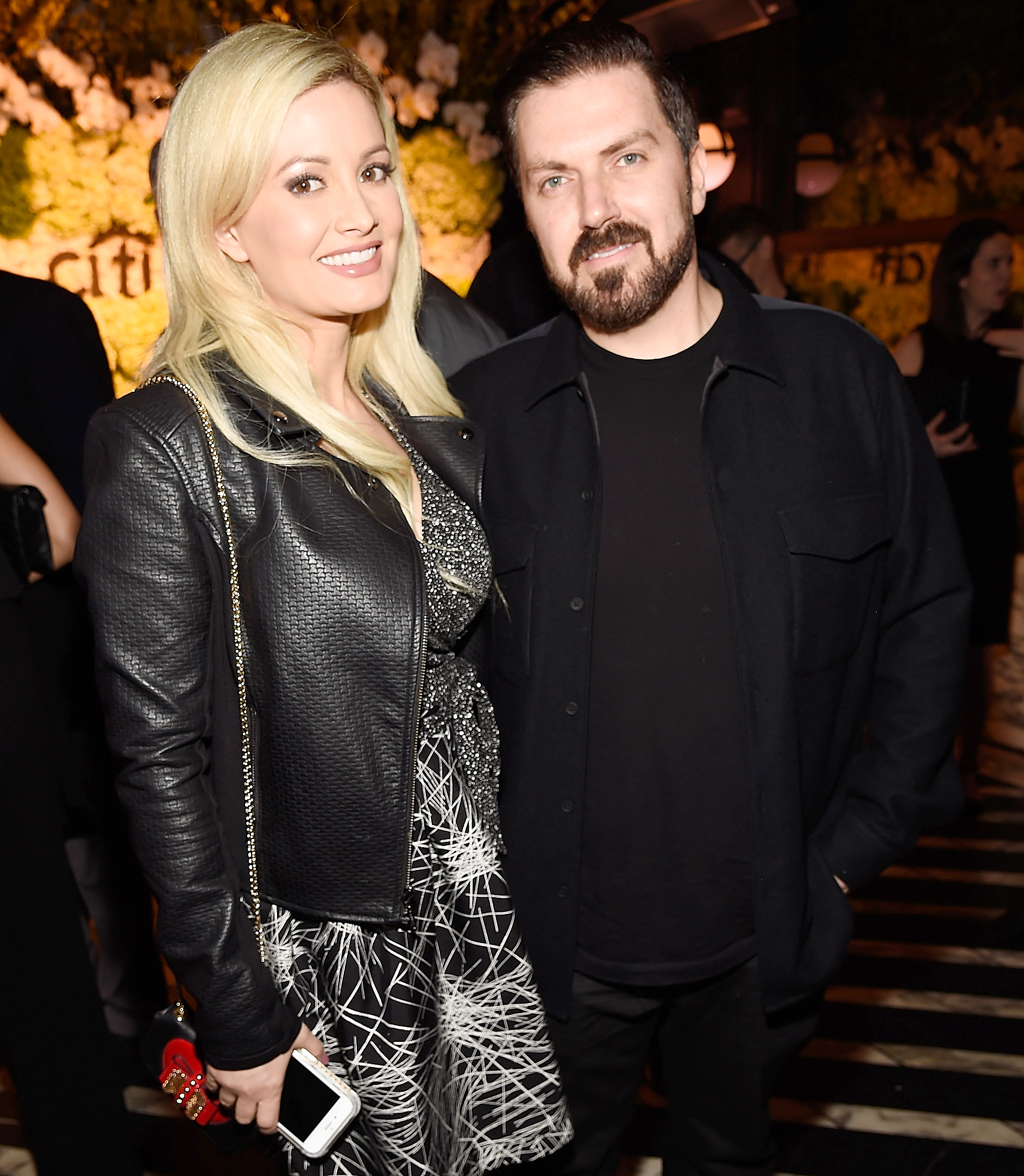 Holly Madison and Pasquale Rotella attend the Billboard Power 100 Celebration in 2017